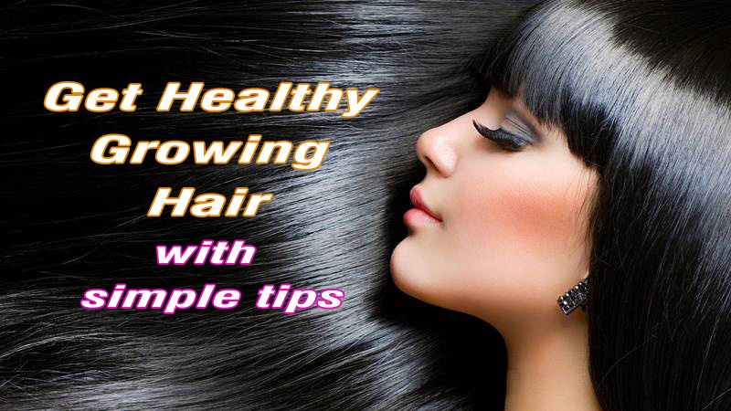 healthy growing hair