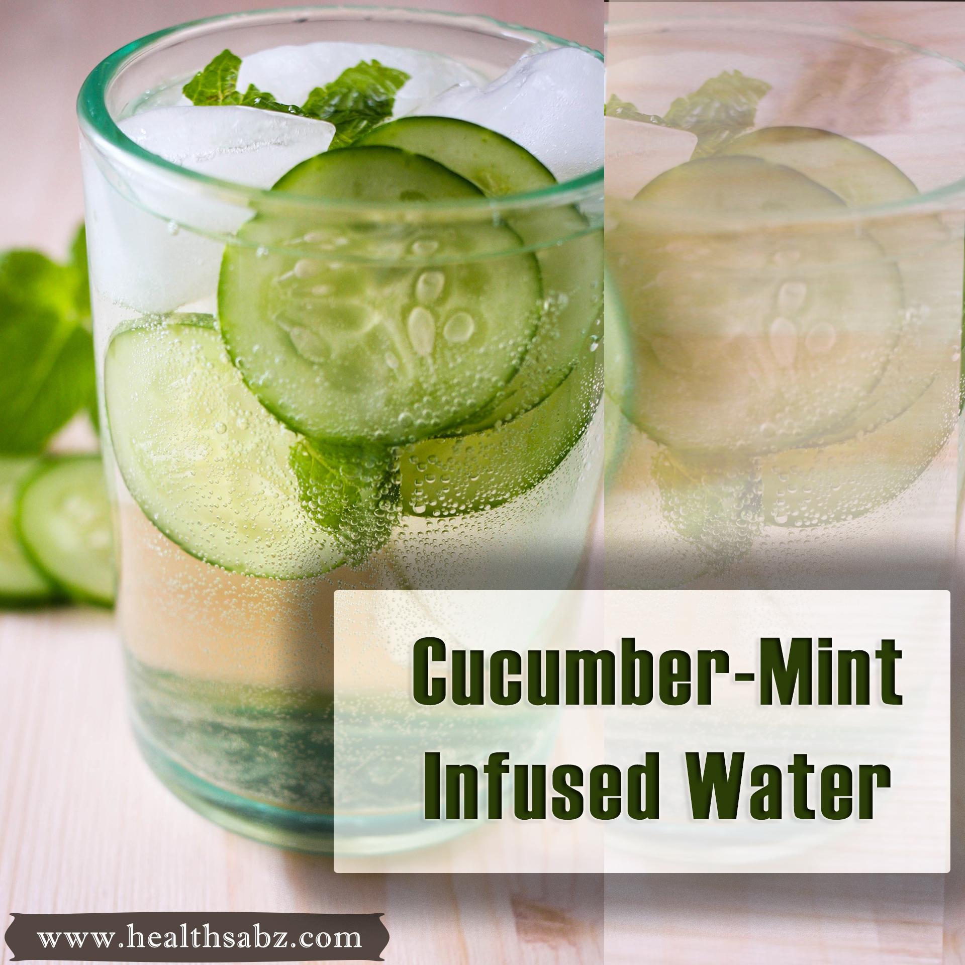 cucumber mint water weight loss